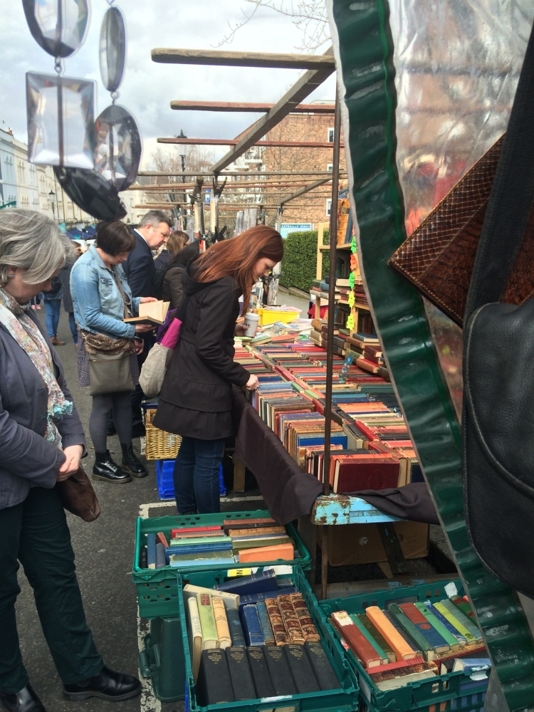 Shopping on Portobello Road