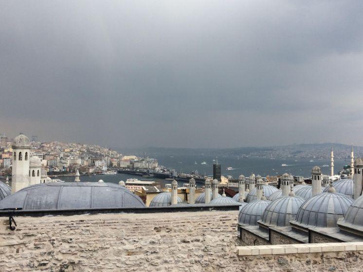 Süleymaniye Mosque view