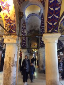 Side alley through the Grand Bazaar