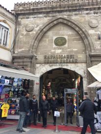 The Grand Bazaar Entrance