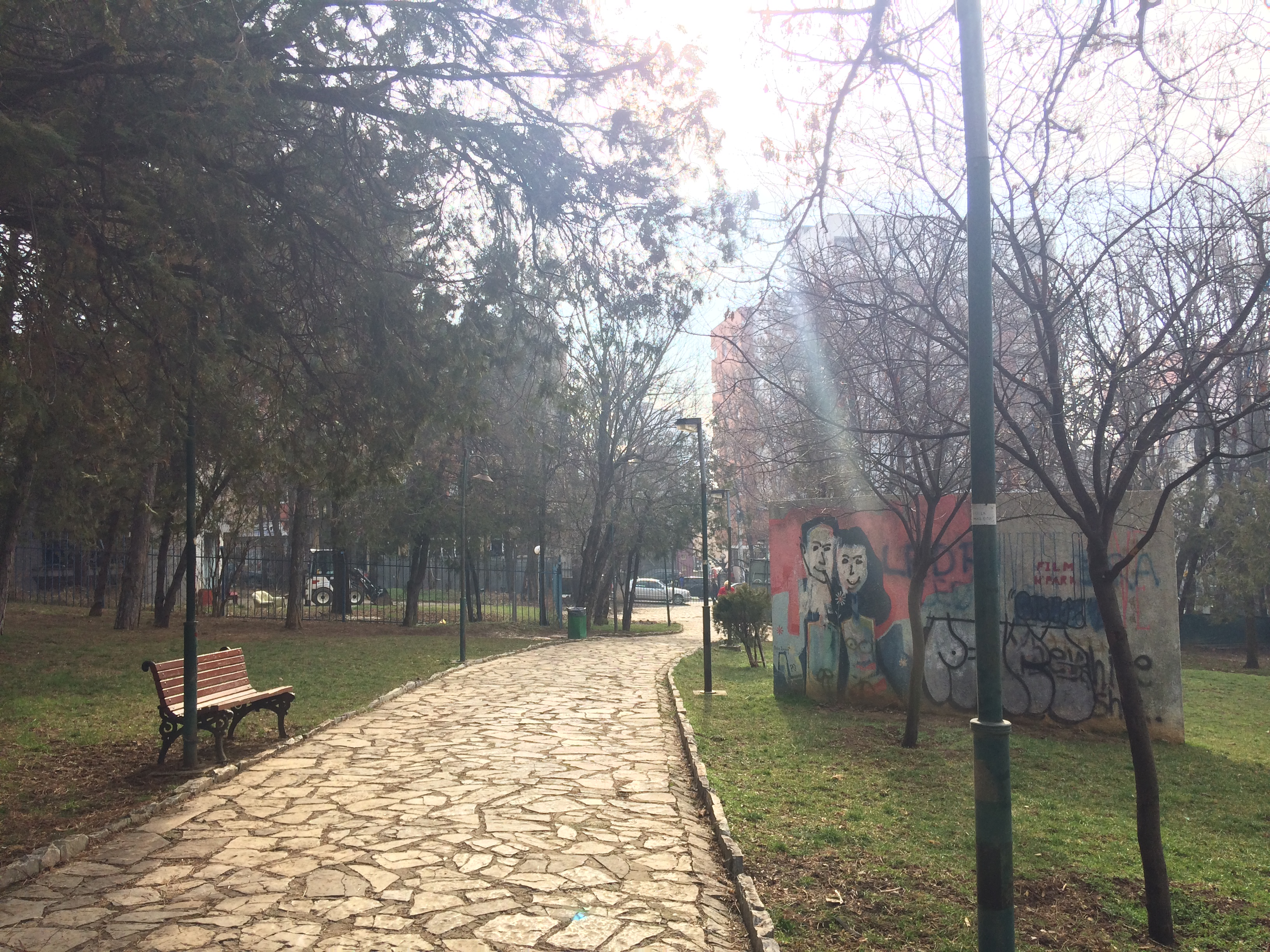 Pristina City ParkPristina, KoPristina, Kosovo, City Park