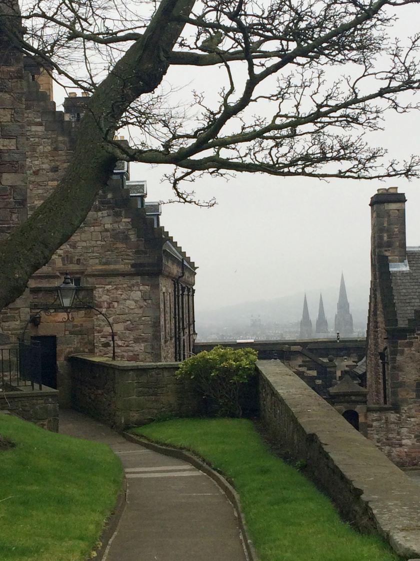 Top of Edinburgh Castle