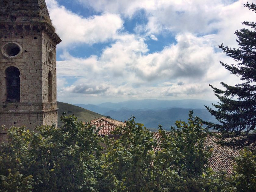 View from Calascio
