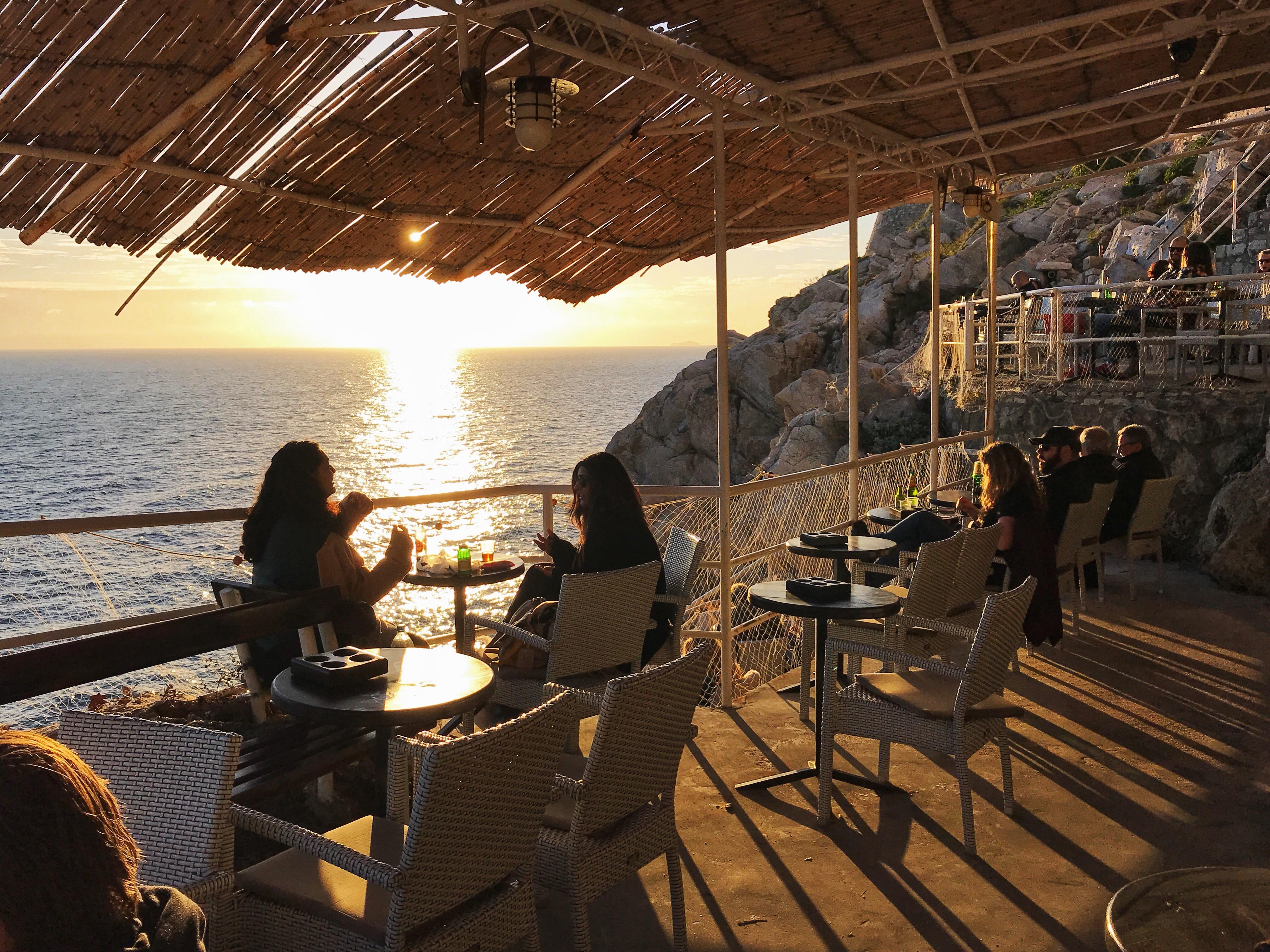 Cliff Side Bar - Dubrovnik