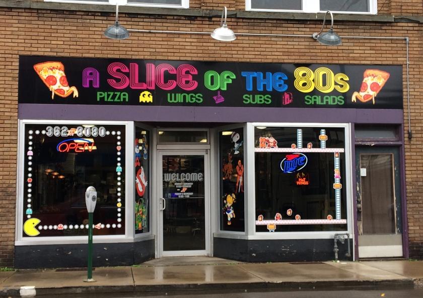 A Slice of the 80s in Bradford, Bradford, Pennsylvania