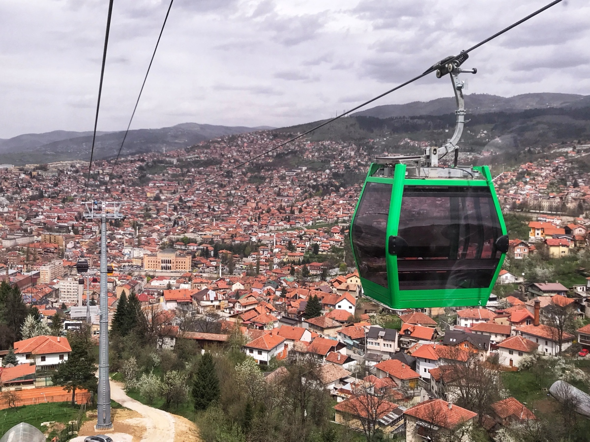 Sarajevo's Famed Cable Car is Back in the Mountain Climbing Business