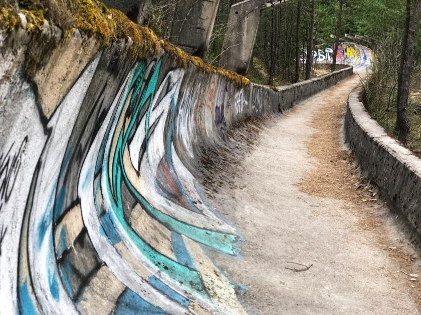 Abandoned Olympic Bobsled Tracks