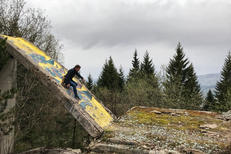 Abandoned Olympic Bobsled Tracks