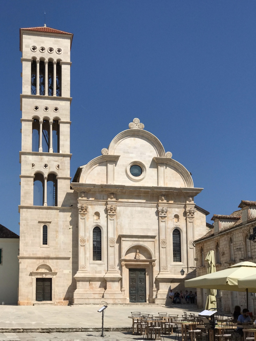The Cathedral of St. Stephen in Hvar, Croatia