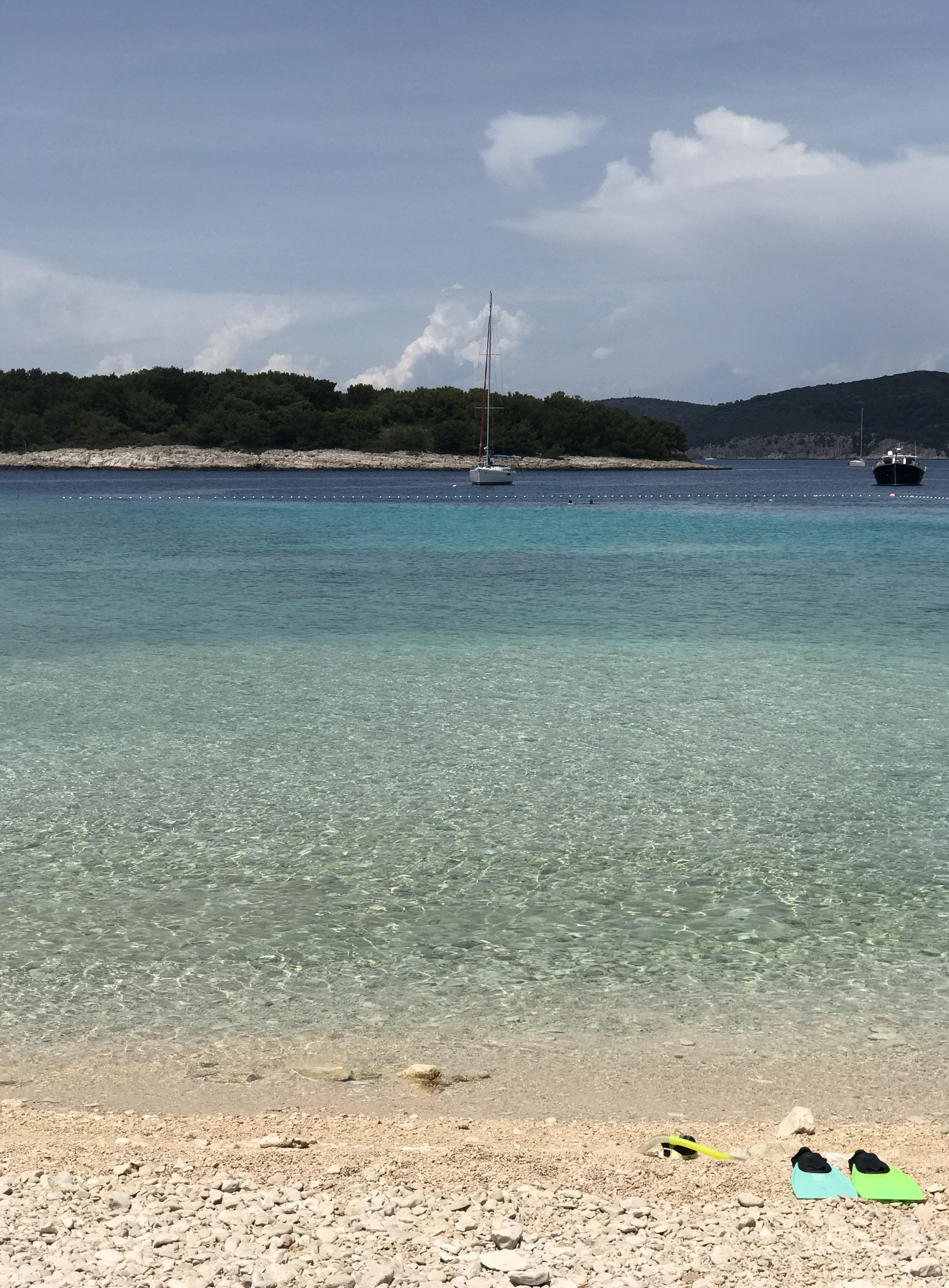 Mlini Beach, Hvar, Croatia