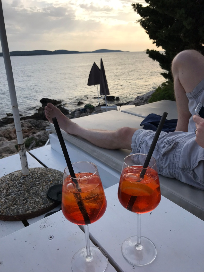 Falko Beach Bar, Hvar, Croatia