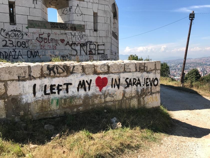 White Fortress in Sarajevo