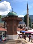 Sebilj Fountain in Sarajevo