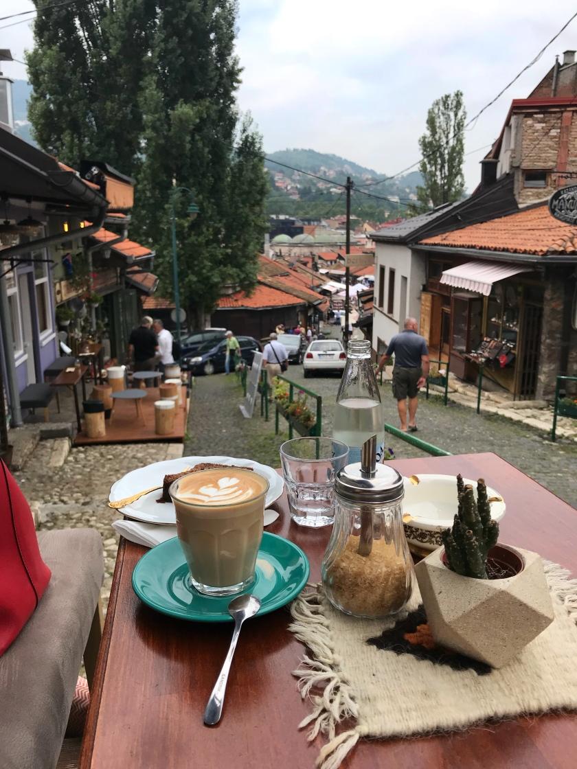 Ministry of Ćejf coffee bar in Sarajevo